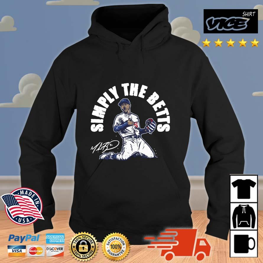 Mookie Betts simply the betts signature Vices hoodie den