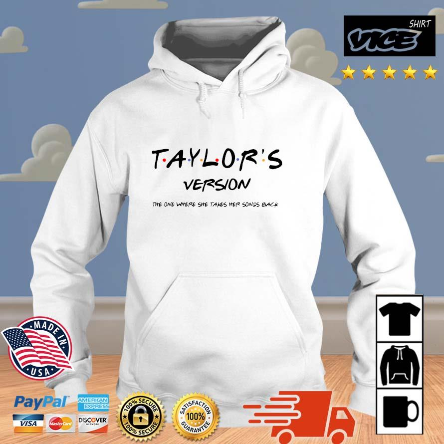 Official taylor's version the one where she takes her songs back Vices hoodie trang