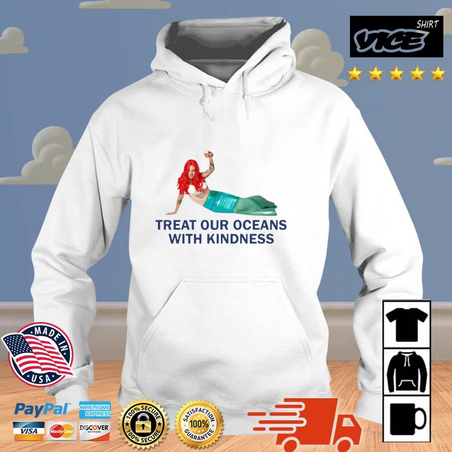 Treat our oceans with kindness Vices hoodie trang