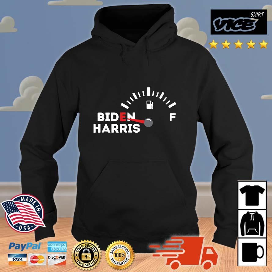 2021 anti Biden Harris Gas Gauge On Empty Pipeline Climate Scam Libtard Shirt Vices hoodie den