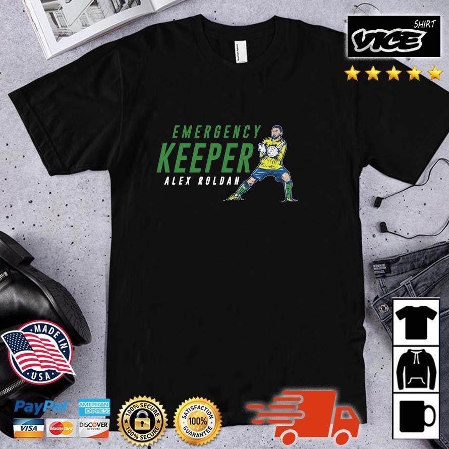 Alex Roldan Emergency Keeper Seattle Shirt