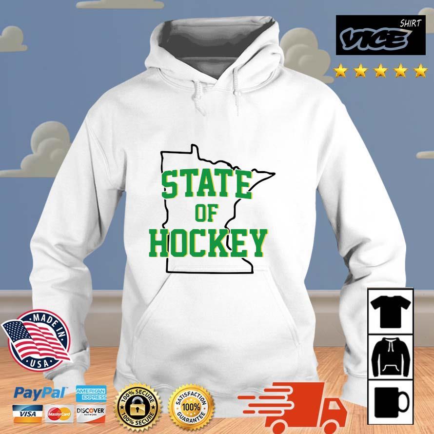 Minnesota State Of Hockey Shirt Vices hoodie trang