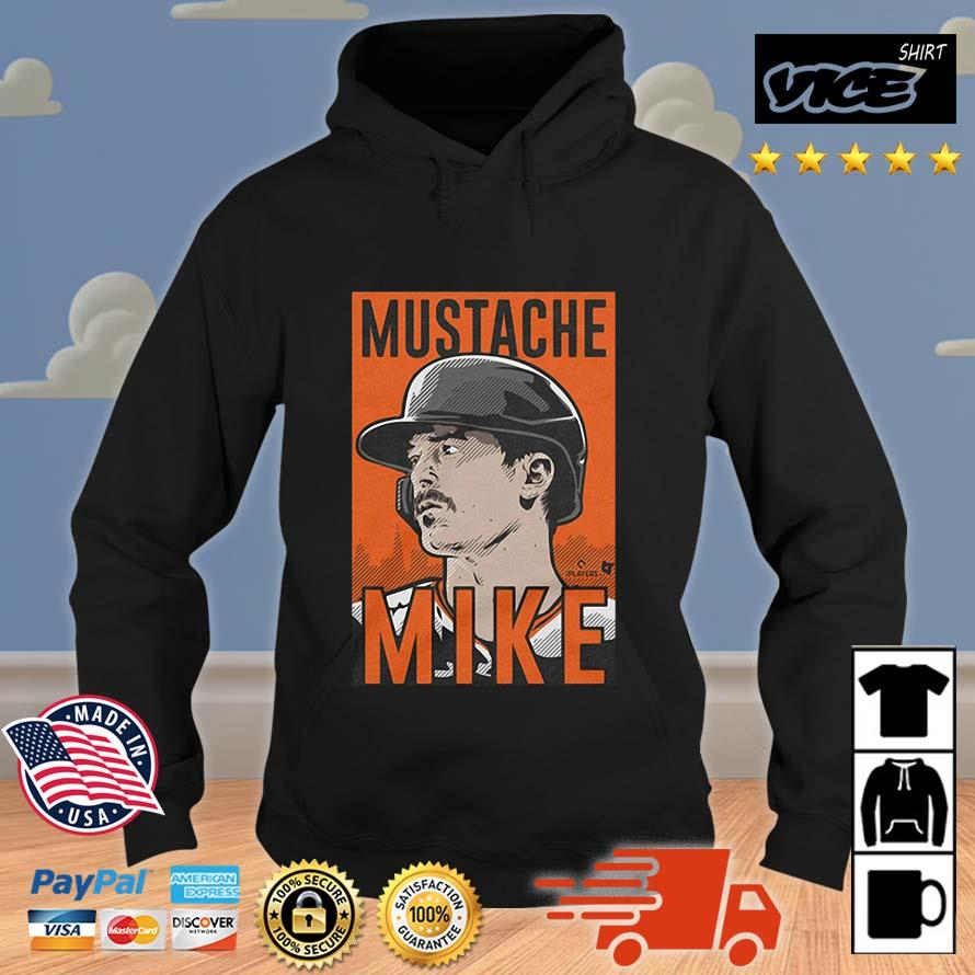 MUSTACHE MIKE T-s Vices hoodie den