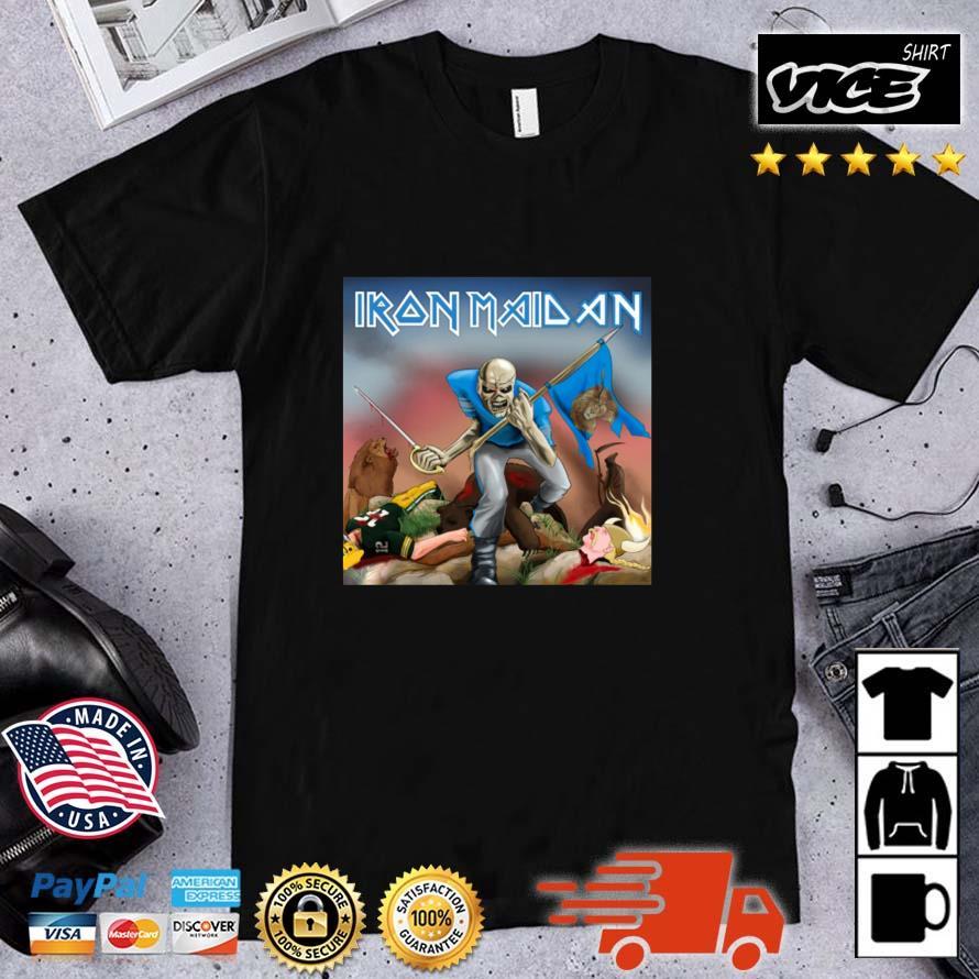Skeleton Iron Maiden Lion Shirt